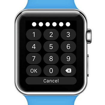 how to change passcode on apple watch