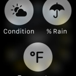 apple watch weather app force touch menu