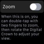 apple watch zoom feature