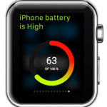battery monitor apple watch  glance