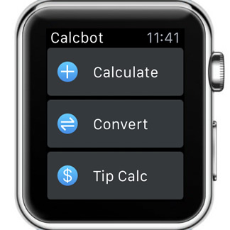 Calcbot Le Watch Calculator And