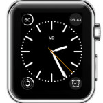 color watch face with timer complication