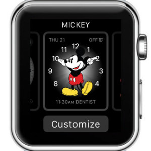 customize apple watch face