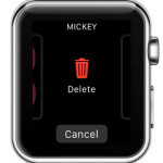 delete apple watch face