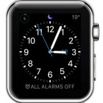 do not disturb icon on apple watch face
