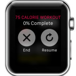 end apple watch workout
