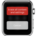 force resetting apple watch