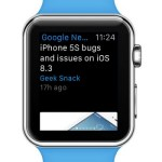 Google News & Weather Updates For Apple Watch
