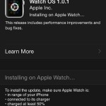 installing watch os 1.0.1