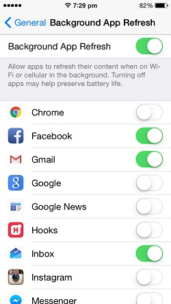 how to get back settings app on iphone