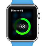 Remaining iPhone Battery Life Displayed On Apple Watch