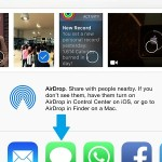 iphone share extensions