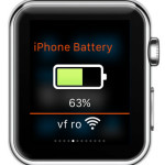 remote battery and connectivity apple watch app