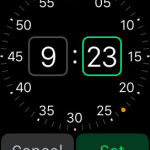 set apple watch alarm time