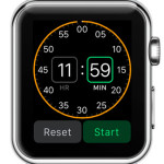 setting up timer on apple watch