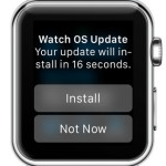 Watch OS 1.0.1 Update Improves Performance & Fixes Bugs
