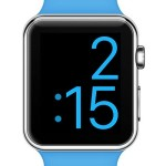 x-large apple watch face