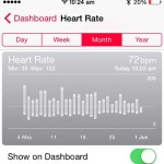 apple watch heart rate tracking graph