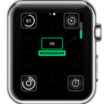 apple watch monogram complication