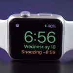 apple watch nightstand snoozing