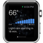 Dark Sky Provides To The Minute Weather Forecast