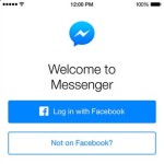 Messenger Now Works Even Without A Facebook Account