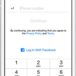 facebook messenger sign up with phone number