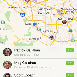 Find My Friends App Becomes Native in iOS 9 | iPhoneTricks org