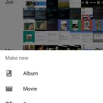 google photos home screen options