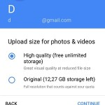 google photos upload size for photos & videos