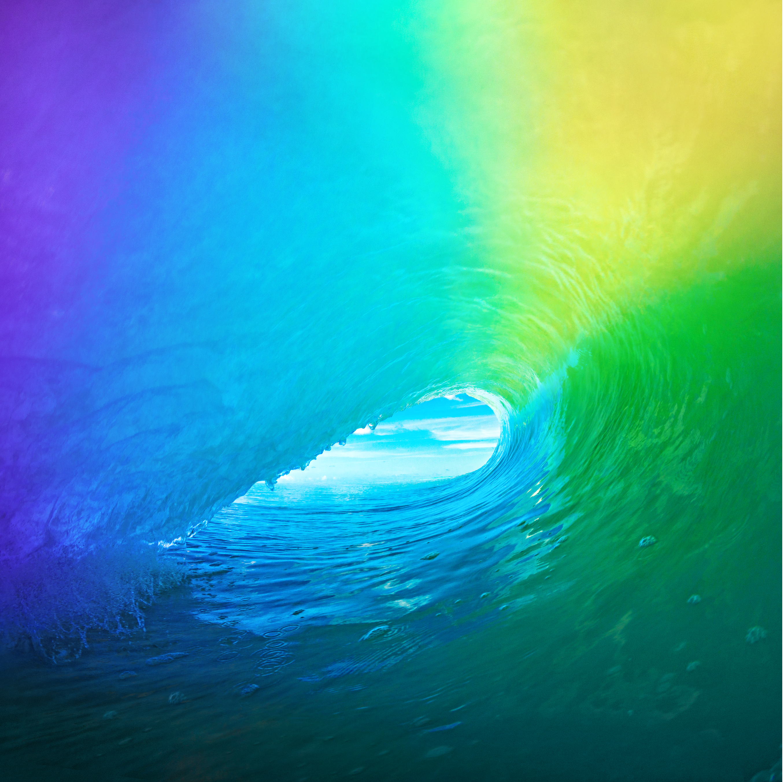 Simply Tap On This Default IOS 9 Wallpaper