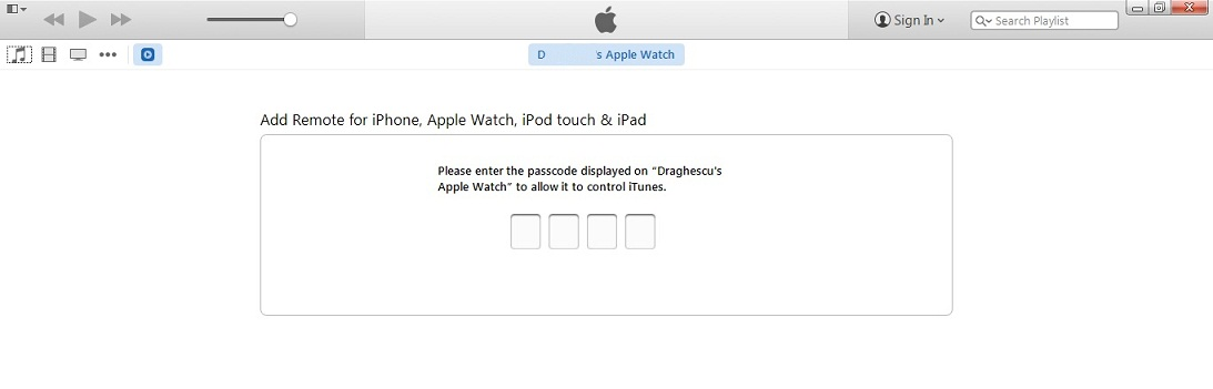 use apple watch to remote control music playback on mac or