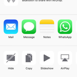 ios 9 hide photos option