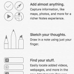 ios 9 notes app features