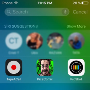 ios 9 proactive search on iphone