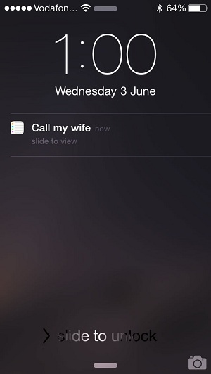 Use Siri To Create Interactive Reminders With Contact Call ...