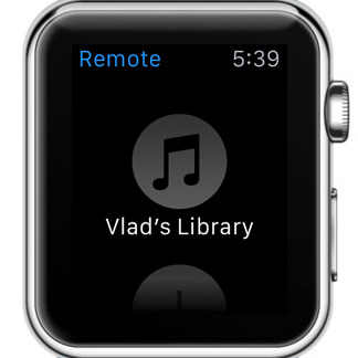 how to add a remote itunes