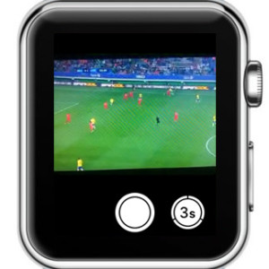 playing TV station on Apple Watch