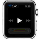 start computer music playback from Apple Watch
