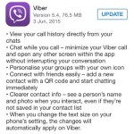 viber 5.4 full update log
