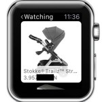 watching ebay items on watchos