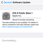 downloading ios 9 public beta 1