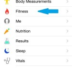 health data tab in ios health app