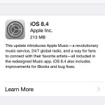 ios 8.4 software update view