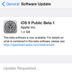 Download and Install iOS 9 Public Beta 1