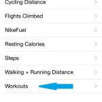 iphone health app fitness menu