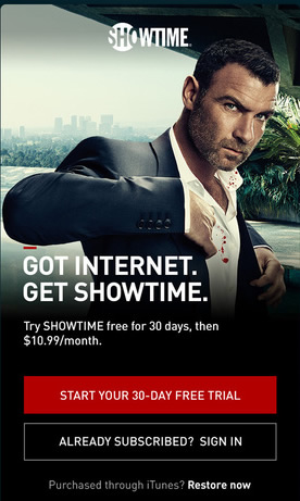 how to cancel showtime subscription