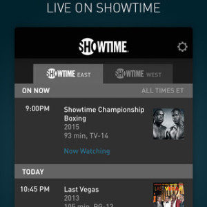 showtime live on iphone