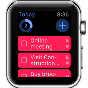 Things task manager  Apple Watch view