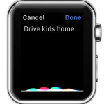 adding new things to-do via apple watch dictation